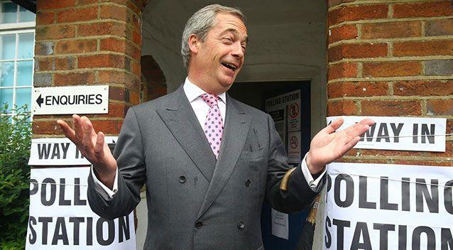 Leading anti-EU campaigner Nigel Farage reportedly called for British Prime Minister David Cameron resignation