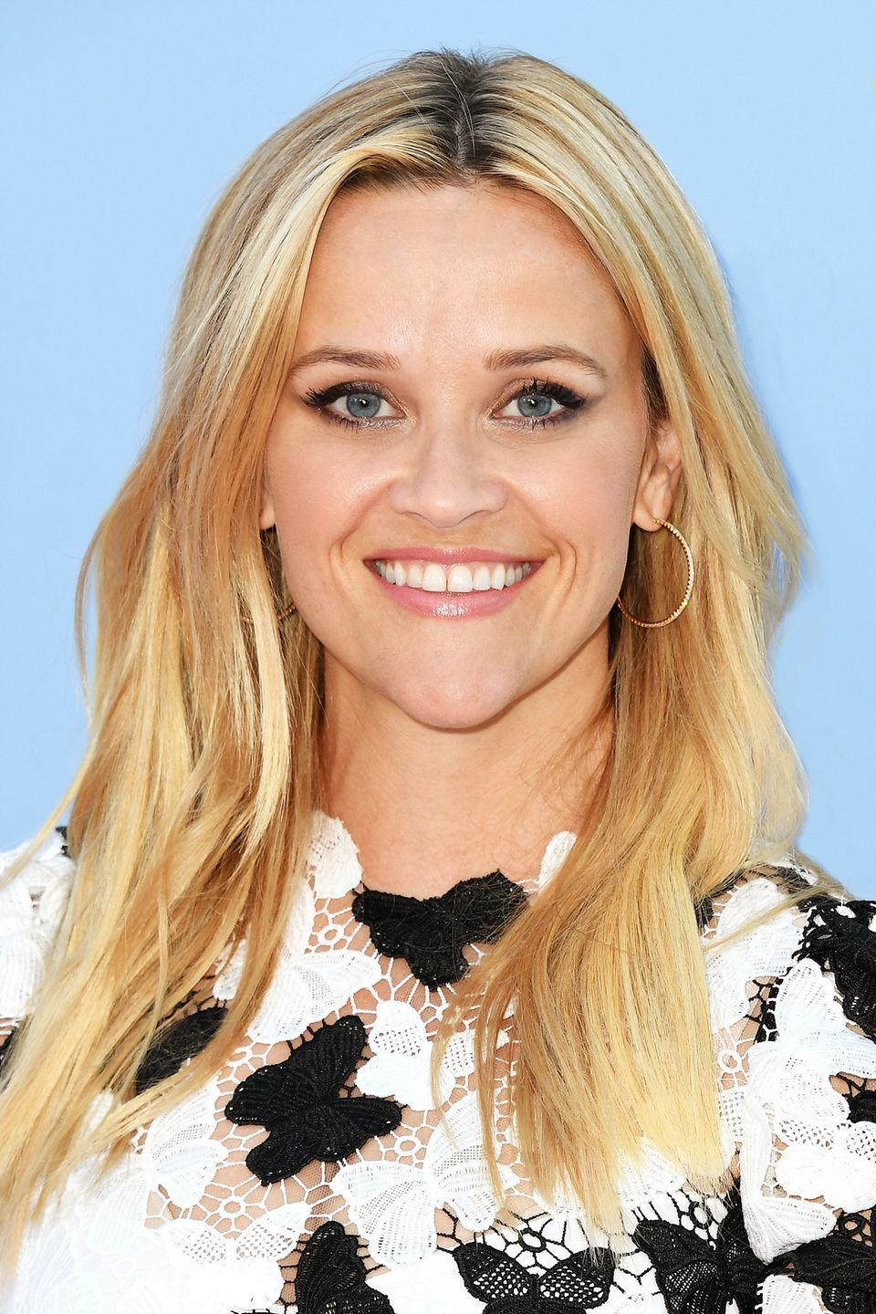 """<p>Request warm-toned highlights rather than more summery champagne or platinum for hair like <strong>Reese Witherspoon</strong>'s, says <a href=""""https://ritahazan.com/"""" rel=""""nofollow noopener"""" target=""""_blank"""" data-ylk=""""slk:Rita Hazan"""" class=""""link rapid-noclick-resp"""">Rita Hazan</a>, a celebrity colorist in New York City, who's created custom hues for celebs like J.Lo and Madonna. If you're dyeing your hair at home, add ribbons of highlights using a color kit no more than two shades lighter than your base; look for terms like """"warm,"""" """"golden,"""" """"honey,"""" """"butter"""" and """"buttery.""""</p>"""