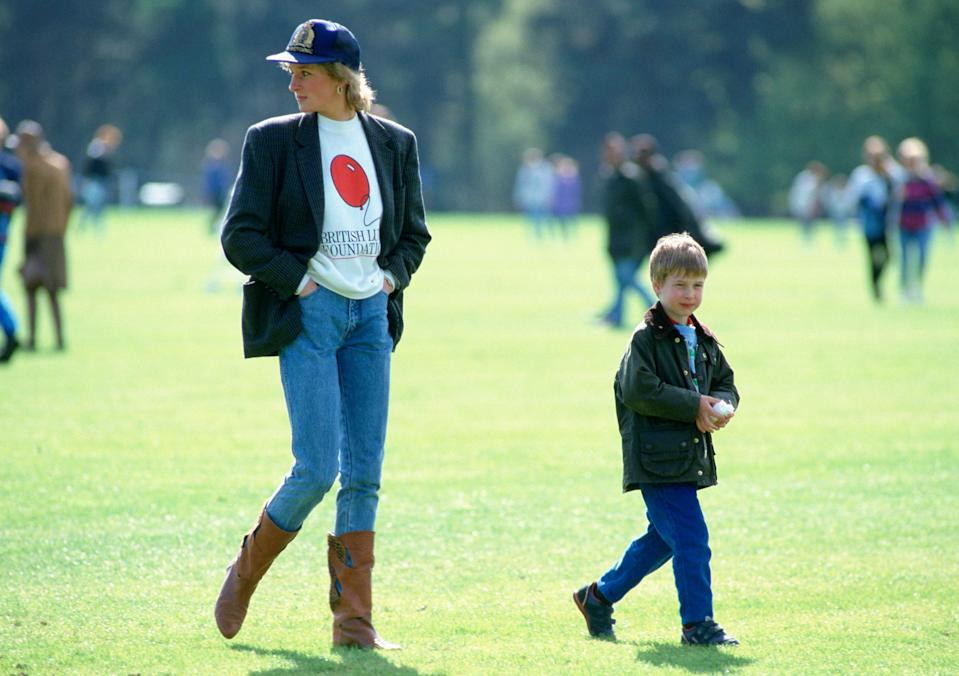 "<h1 class=""title"">Princess Diana And Prince William Polo</h1><cite class=""credit"">Tim Graham</cite>"
