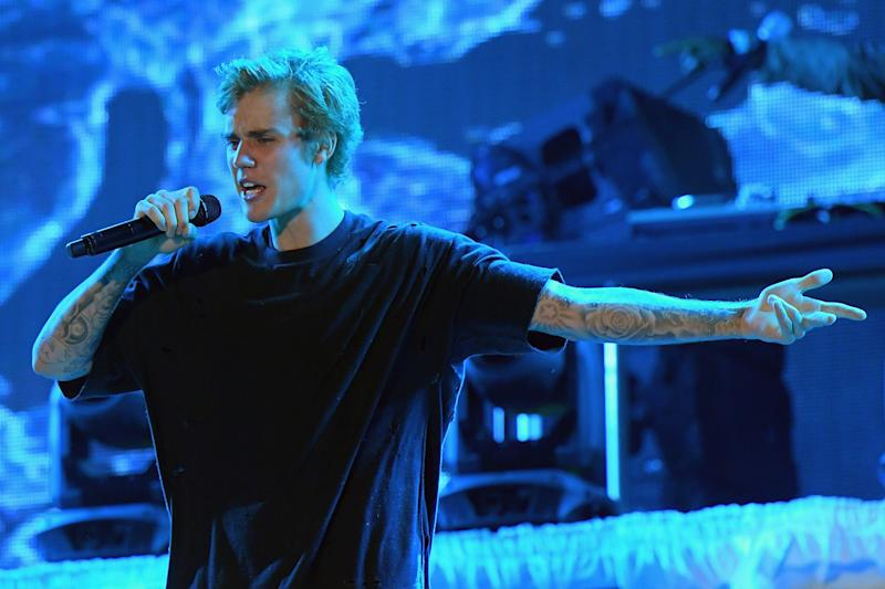 Unimpressed: Justin Bieber is tired of fans showing a lack of respect: Gustavo Caballero/Getty Images