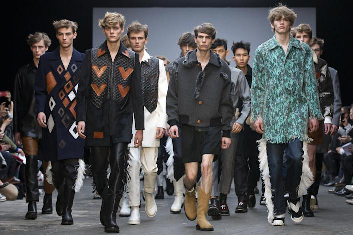 Xander Zhou on the final day of the Autumn/Winter 2015 London Collections: Men