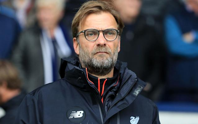 <span>Klopp is eyeing a top-four finish this season</span> <span>Credit: PA </span>