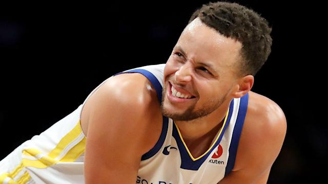 Stephen Curry re-injured his ankle when he stepped on an opponent's foot on March 8, but the Warriors star is nearing a comeback.