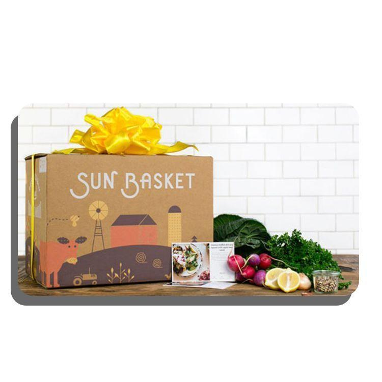 """<p><strong>Sun Basket</strong></p><p>sunbasket.com</p><p><strong>$100.00</strong></p><p><a href=""""https://go.redirectingat.com?id=74968X1596630&url=https%3A%2F%2Fsunbasket.com%2Fgift%2Fselect&sref=https%3A%2F%2Fwww.bestproducts.com%2Flifestyle%2Fg34252800%2Fbest-gift-cards%2F"""" rel=""""nofollow noopener"""" target=""""_blank"""" data-ylk=""""slk:Shop Now"""" class=""""link rapid-noclick-resp"""">Shop Now</a></p><p>A premium meal kit service focusing on more nuanced preferences like paleo, gluten-free, and low-carb diets, Sun Basket provides creative menu options that taste fabulously flavorful. Its gift credit is available in custom amounts.</p><p>Because of its consciously sourced, high-quality ingredients, this meal kit is a little more expensive than others out there (at roughly $72 for three meals per week), so it makes a generous gift for the person whom you'd like to treat to dinner.</p>"""