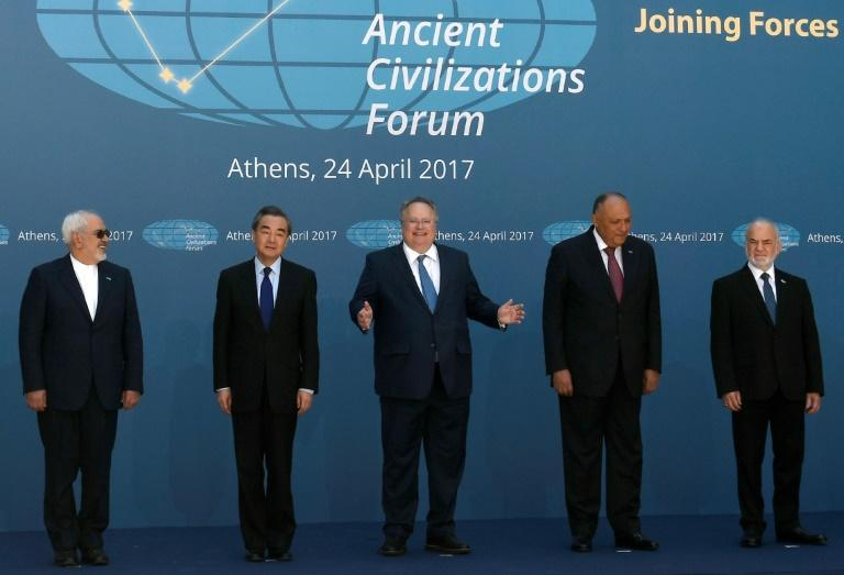 Ministers from 10 countries join together to protect the heritage sites of their ancient civilisations