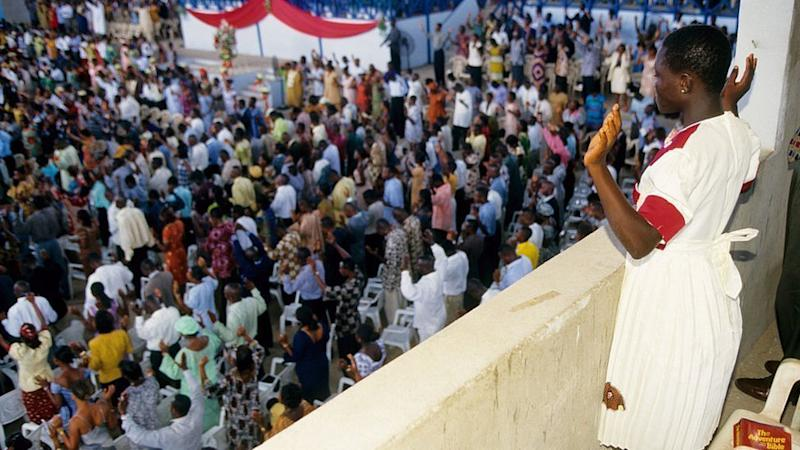 Church service in Accra (archive shot)
