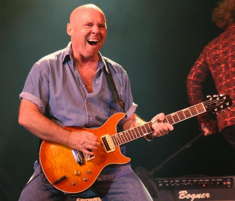 This undated photo provided by Prime Time Entertainment Inc. shows Rock guitarist Ronnie Montrose. The death of rock guitarist Ronnie Montrose, who formed an eponymous band in the 1970s and played with heavy hitters such as Van Morrison and Herbie Hancock, has been ruled a suicide. (AP Photo/Prime Time Entertainment Inc)