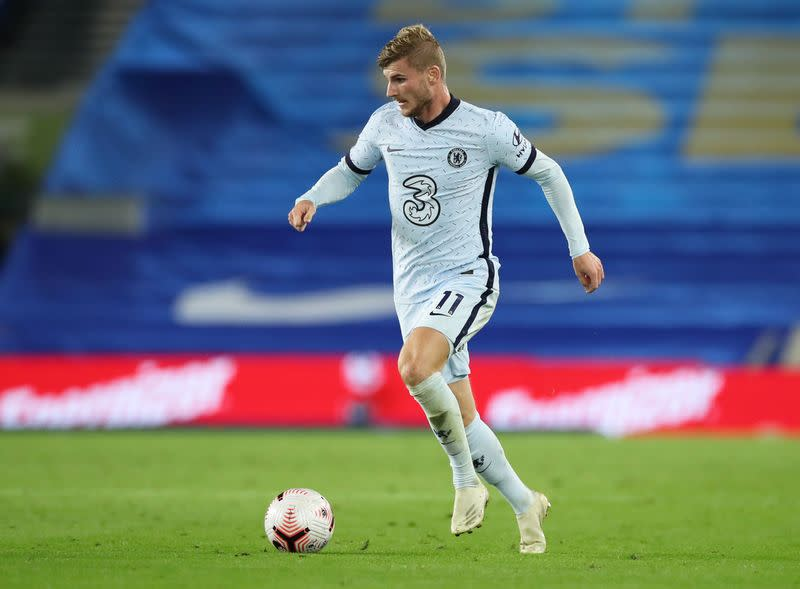 Soccer: Werner happy to snub champions Liverpool for Lampard's Chelsea