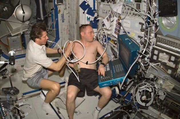 Astronauts can perform basic medical checks on the International Space Station, but crews heading to Mars may need to do more complicated medical procedures without the ability to communicate in real time with Mission Control back on Earth. A system being developed by Redmond, Wash.-based Retrocausal could serve as an AI-generated medical assistant. (NASA Photo)