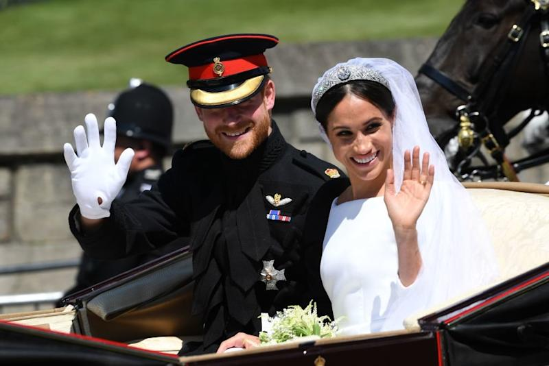 Prince Harry and Meghan Markle Release Never-Before-Seen Wedding Photos to Mark 1-Year Anniversary