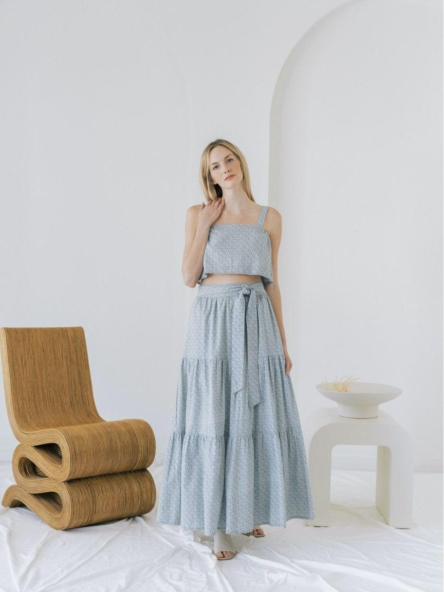 """<h2>Laude the Label</h2><br>This sun-kissed brand turns out a host of breezy separates with the help of mile-high, B-Corp certified ethical standards. Every maker and manufacturer that the brand employs must adhere to their Code of Conduct, which prohibits slavery, child labor, discrimination and harrassment; and promotes workplace safetly, reasonable working hours, and a fair wage.<br><br><em>Shop <strong><a href=""""https://www.verishop.com/brand/laude-the-label"""" rel=""""nofollow noopener"""" target=""""_blank"""" data-ylk=""""slk:Laude the Label"""" class=""""link rapid-noclick-resp"""">Laude the Label </a></strong>at Verishop</em><br><br><strong>Laude the Label</strong> Tiered Maxi Skirt, $, available at <a href=""""https://go.skimresources.com/?id=30283X879131&url=https%3A%2F%2Fwww.verishop.com%2Flaude-the-label%2Fmarketplace%2Ftiered-maxi-skirt%2Fp6591488852162%3Fcolor%3DIndigo%2BBlock%2BPrint"""" rel=""""nofollow noopener"""" target=""""_blank"""" data-ylk=""""slk:Verishop"""" class=""""link rapid-noclick-resp"""">Verishop</a>"""