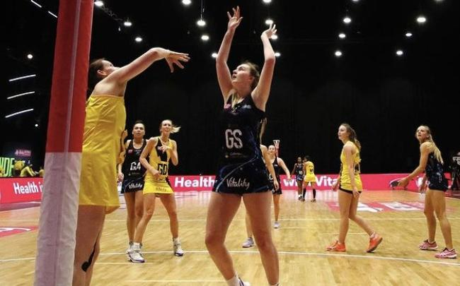 Issy Eaton has made her mark on the Vitality Netball Superleague this season © Ben Lumley