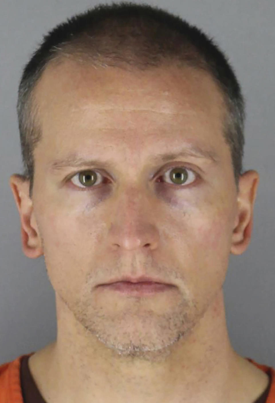 FILE - This undated photo provided by the Hennepin County Sheriff's Office in Minnesota on June 3, 2020, shows, former Minneapolis police officer Derek Chauvin. Prosecutors in the upcoming trial of Chauvin, charged with killing George Floyd, want to introduce evidence of a 2017 arrest in which they say the officer held his knee on the back of a 14-year-old boy and ignored his pleas that he couldn't breathe. (Hennepin County Sheriff's Office via AP, File)