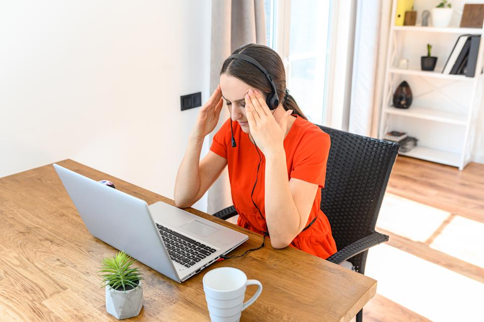 One in five women said they felt ignored or overlooked by colleagues during video calls, according to a study. Photo: Getty