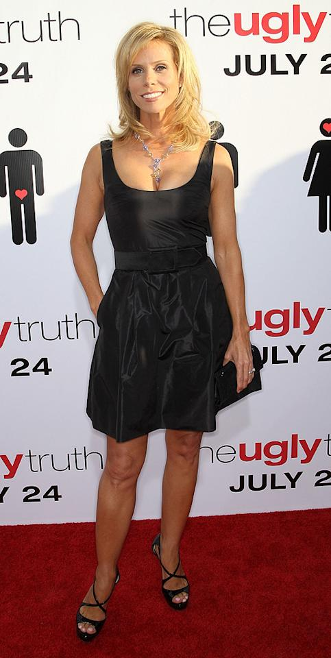 """<a href=""""http://movies.yahoo.com/movie/contributor/1804537315"""">Cheryl Hines</a> at the Los Angeles premiere of <a href=""""http://movies.yahoo.com/movie/1810021980/info"""">The Ugly Truth</a> - 07/16/2009"""