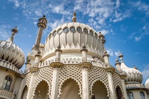 Outrageous Brighton Pavilion, built by George IV in the Regency period - Credit: GETTY