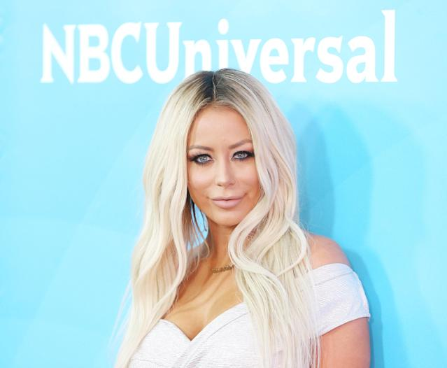 Aubrey O'Day attends the 2016 NBCUniversal Summer press day in 2016. (Photo: Getty Images)