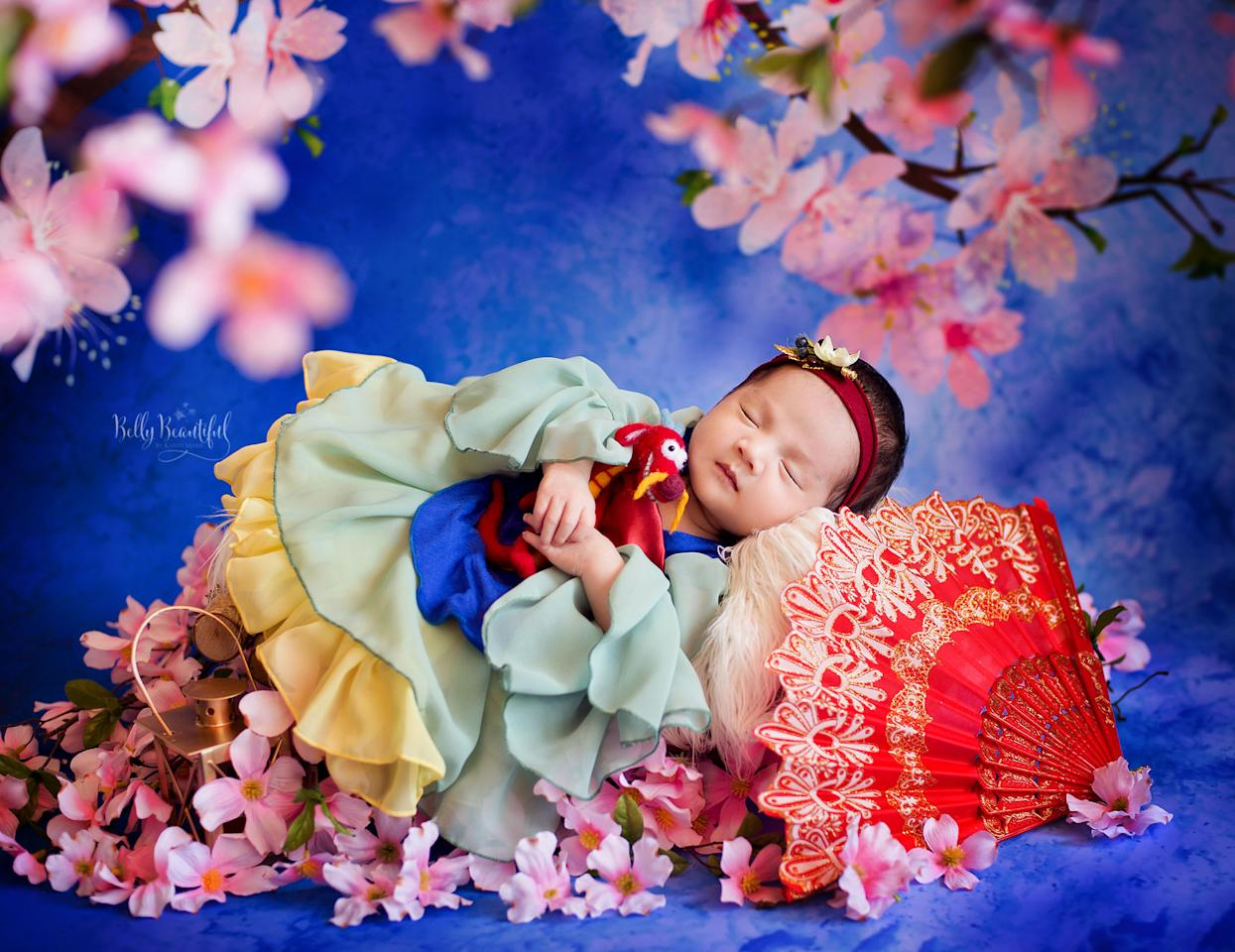 This Photographer Took Photos Of Babies Dress As Itty Bitty Disney Princesses And We Are Crying