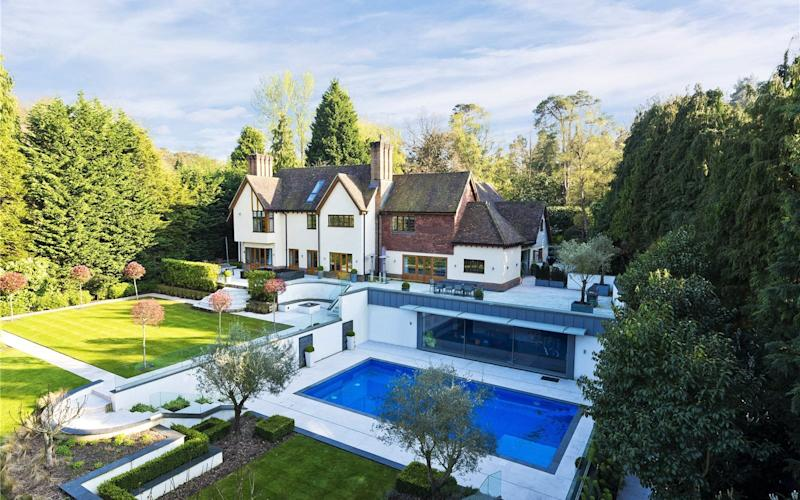 The £4.15m Arts and Crafts house