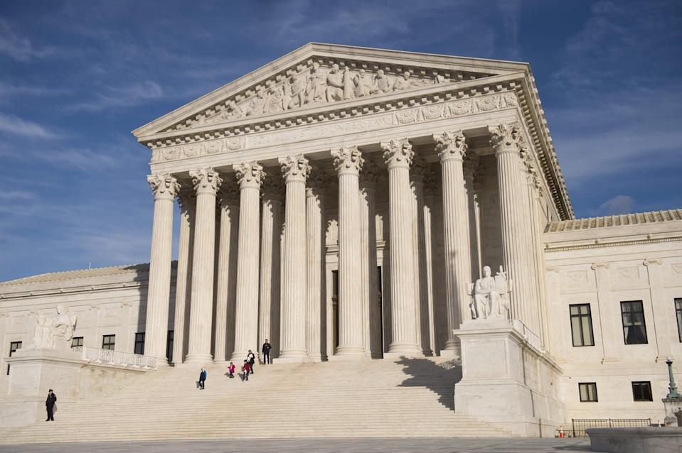 U.S. Supreme Court on Jan. 31, 2017, in Washington, D.C.