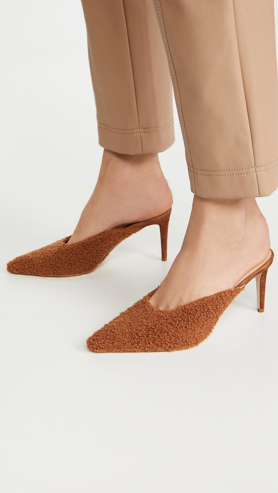 <p>These <span>Chelsea Paris Wina Mules</span> ($250, originally $500) are so elegant, you'll find yourself wearing them around the house.</p>