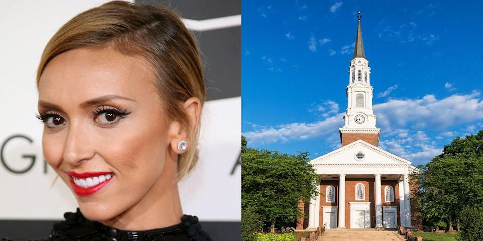 <p><strong>University of Maryland</strong></p><p>Rancic received a Bachelor's degree in journalism from the University of Maryland, College Park, and a Master's degree in journalism from American University. During this time, she worked for a Capitol Hill news bureau covering stories related to the U.S. government.</p>
