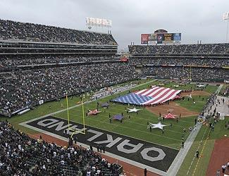 The Raiders have had long-term issues with their current home in Oakland. They could end up sharing a new stadium with the 49ers