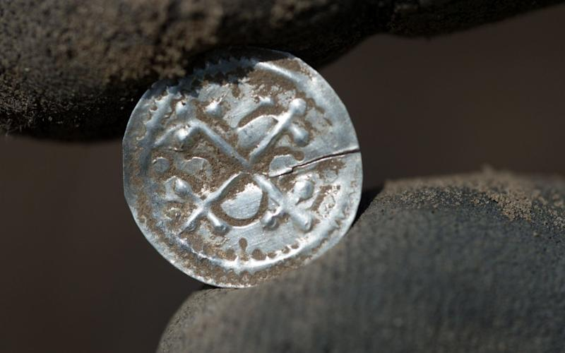 Denmark's first independent type of coin, dating back as far as 958, was unearthed among 600 others - DPA