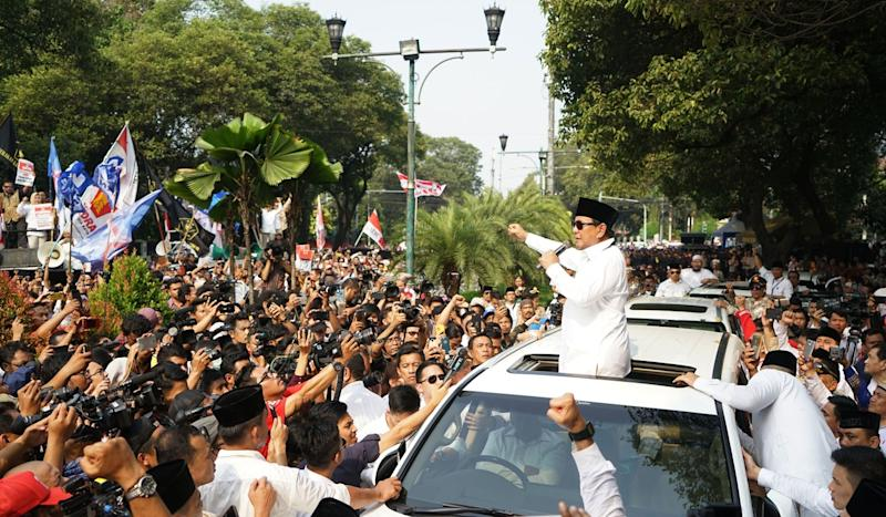 Indonesian election: with nod to Malaysia's 1MDB, Prabowo makes corruption pledge