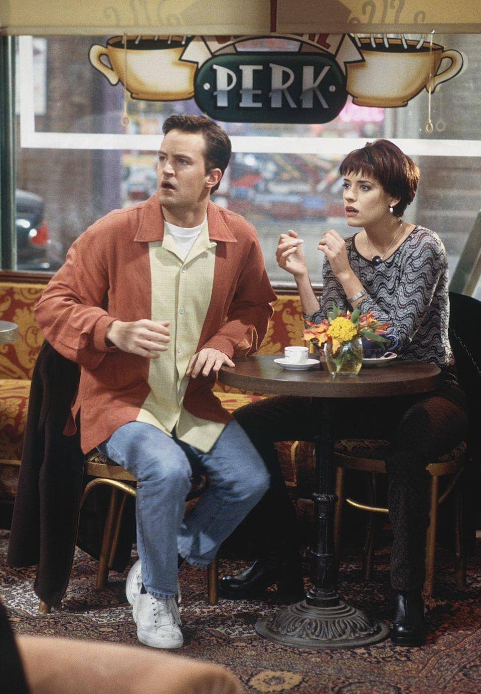 <p>When Paget Brewster joined <em>Friends</em> for a multi-episode story arch as Joey (and Chandler's) girlfrienxd Kathy, she was fairly new in Hollywood. Since then, the actress has had stints on TV shows like <em>Criminal Minds, Community</em>, <em>Law and Order: Special Victims Unit</em>, and <em>Modern Family</em>. </p>