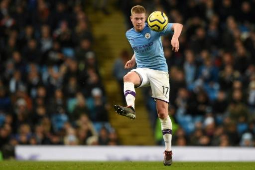'Incredible' Manchester City midfielder Kevin De Bruyne in action during a 3-1 win over Leicester