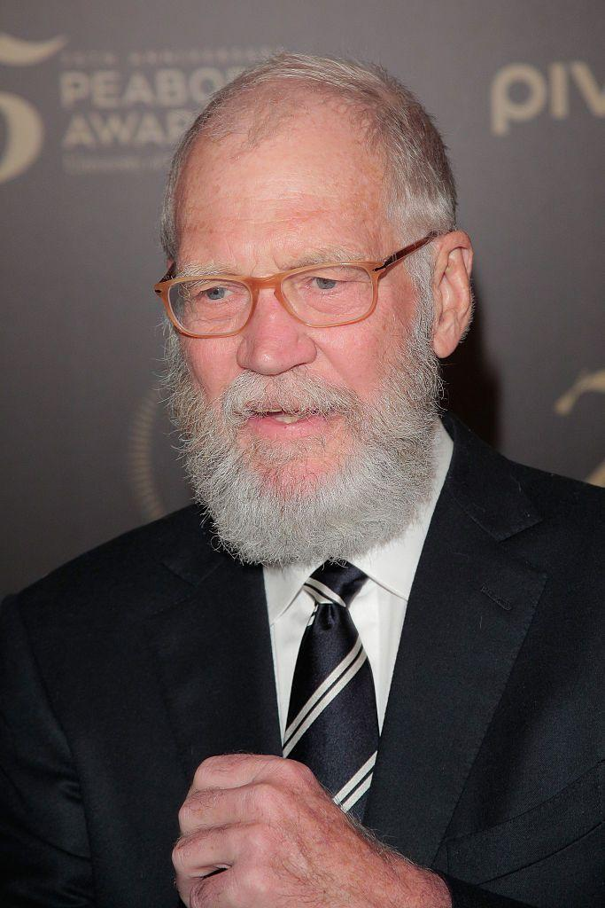 "<p>We might call this ""beard phase 1."" Who knew Letterman had an extended universe planned for his grooming.</p>"