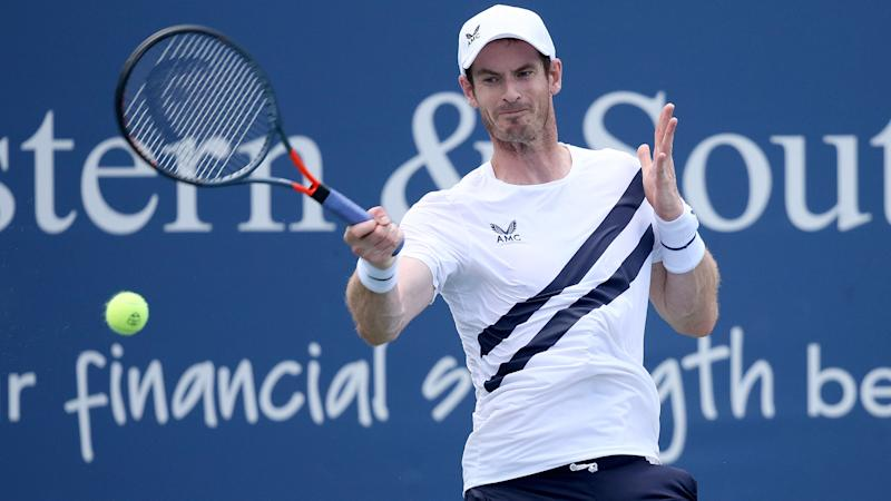 Murray overcomes Zverev in tight second-round battle