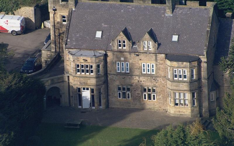 Whorlton Hall accommodated 12 NHS patients - BBC Panorama