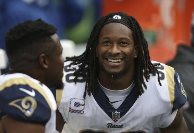In a do-over of the 2015 NFL draft, Rams running back Todd Gurley would be the unquestionable No. 1 pick. (AP)