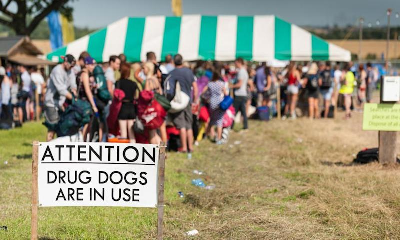 Police say illegal drugs will slip through the net, but word of mouth after drug-testing can cut risks to festival-goers.