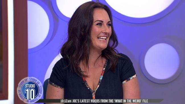 Sara-Marie joined the Studio 10 panel as a guest to reminisce on her time in the Big Brother house. Source: Supplied