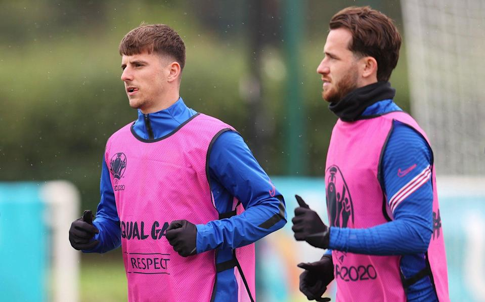 England's Euro 2020 plans in chaos after Mason Mount and Ben Chilwell are forced to self-isolate - Getty Images