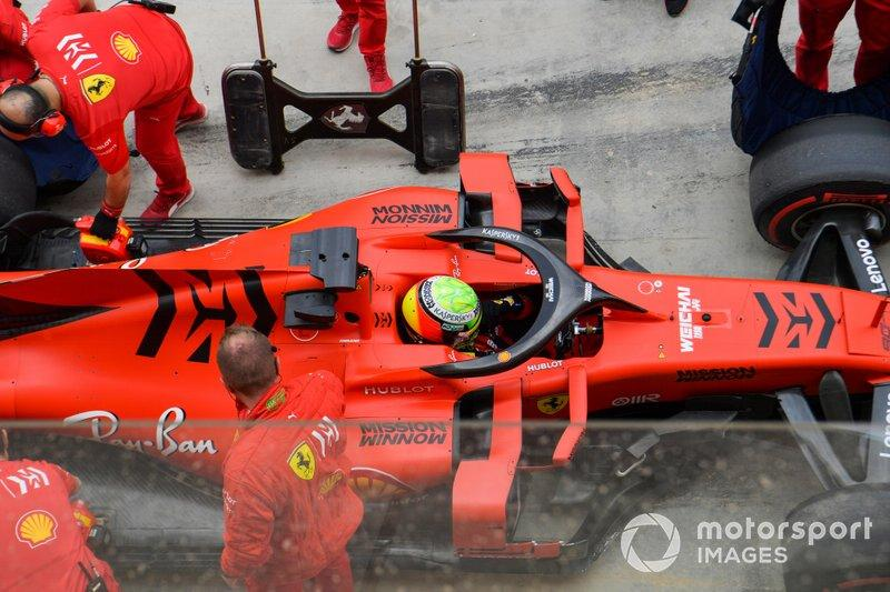 "Mick Schumacher, Ferrari SF90<span class=""copyright"">Jerry Andre / Motorsport Images</span>"