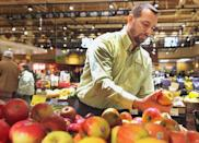 """<p>Another reason a lot of the produce is so top-notch is because Wegmans supports local farmers, meaning the products really are super fresh, as they're grown in your area. They also run their <a href=""""https://www.wegmans.com/about-us/near-our-stores.html"""" rel=""""nofollow noopener"""" target=""""_blank"""" data-ylk=""""slk:own organic farm"""" class=""""link rapid-noclick-resp"""">own organic farm</a> in upstate New York. </p>"""