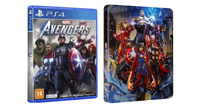 Marvel's Avengers Steelbook (PS4)