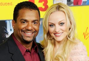 Alfonso Ribeiro, Angela Unkrich | Photo Credits: Gregg DeGuire/WireImage/Getty Images