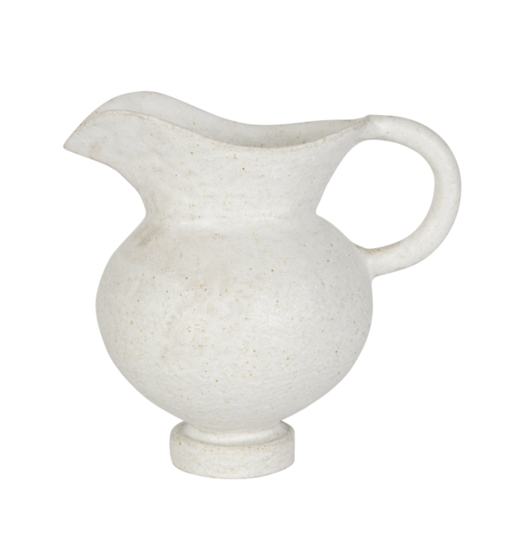 "<p><a class=""link rapid-noclick-resp"" href=""https://sarahbartholomew.com/collections/home-decor/products/valencia-earthenware-pitcher-natural"" rel=""nofollow noopener"" target=""_blank"" data-ylk=""slk:Discover"">Discover</a></p><p>A petite earthenware jug serves many purposes: a serving pitcher, a container for flowers from the garden, or a collected find for a kitchen or hutch. </p>"
