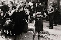 <p>The people of Warsaw, Poland, attempt to rise against the German troops and police that entered the ghetto to deport its inhabitants during WWII.</p>