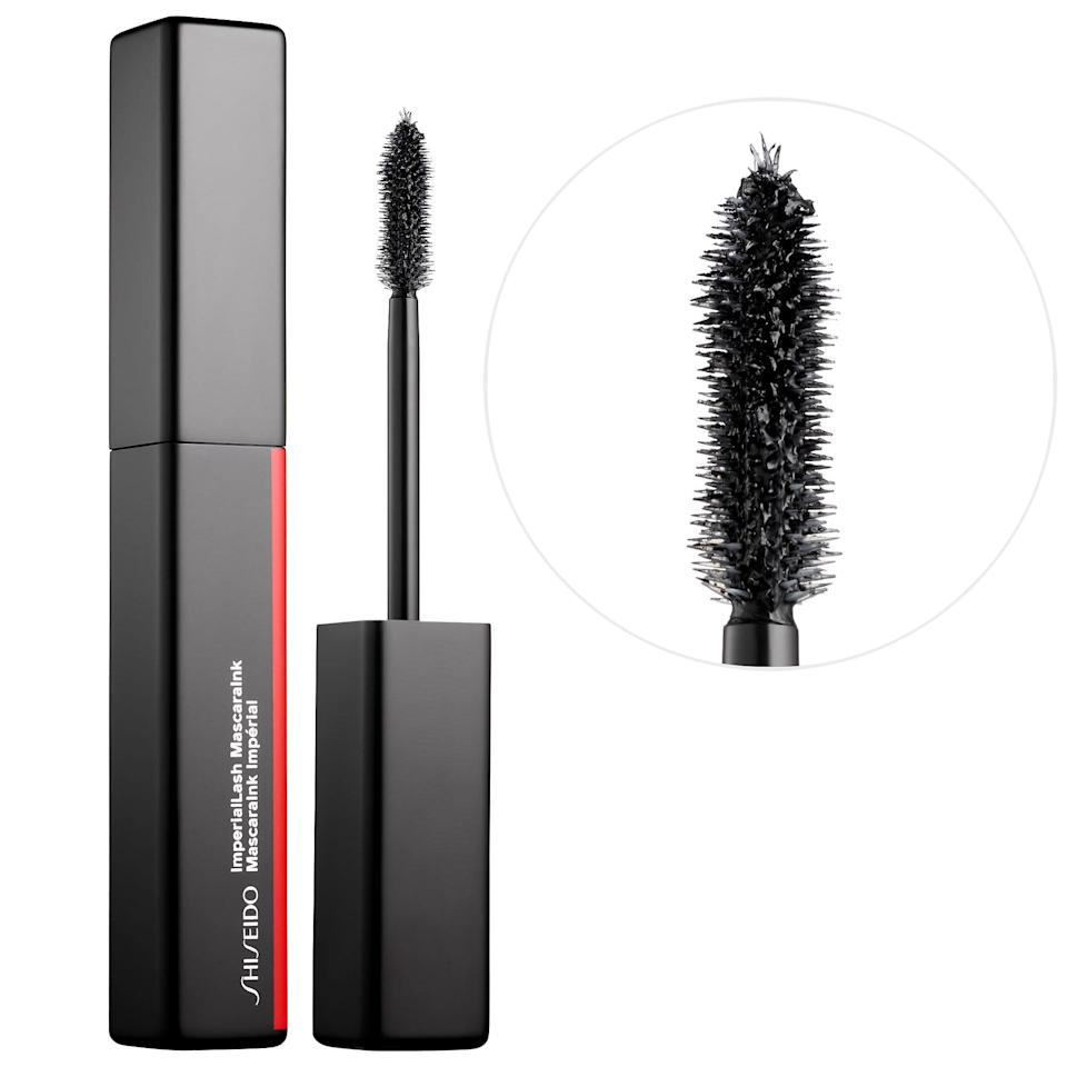 <p>This <span>Shiseido Imperial Lash Mascara Ink</span> ($25) is a favorite because of its highly pigmented, jet-black color.</p>