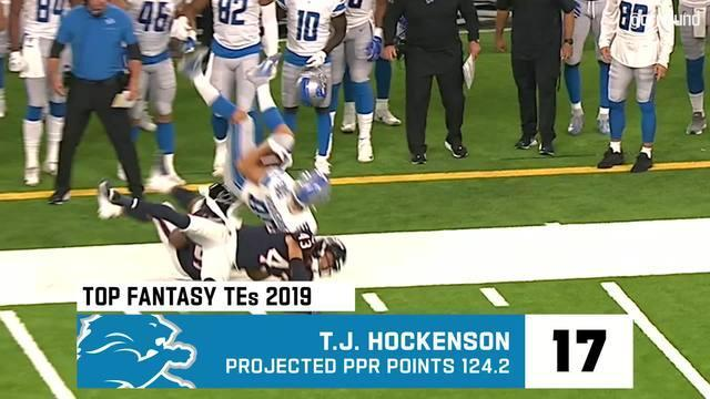 Fantasy football drafts are in full swing. Cynthia Frelund breaks down her top 20 fantasy tight ends for the 2019 NFL season.