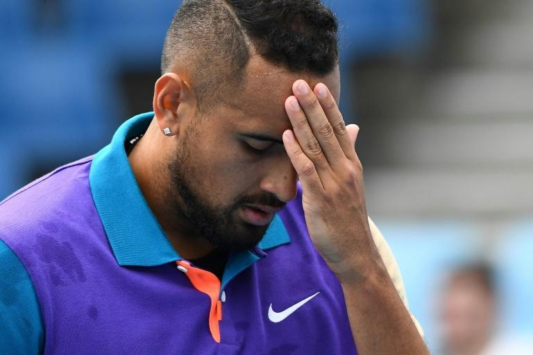 Australia's Nick Kyrgios threatened to walk off court in the Murray River Open