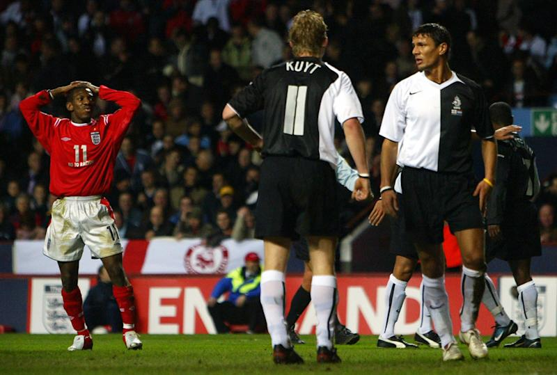 England last played at Villa Park in 2005, when they drew 0-0 with the Netherlands (AFP via Getty Images)