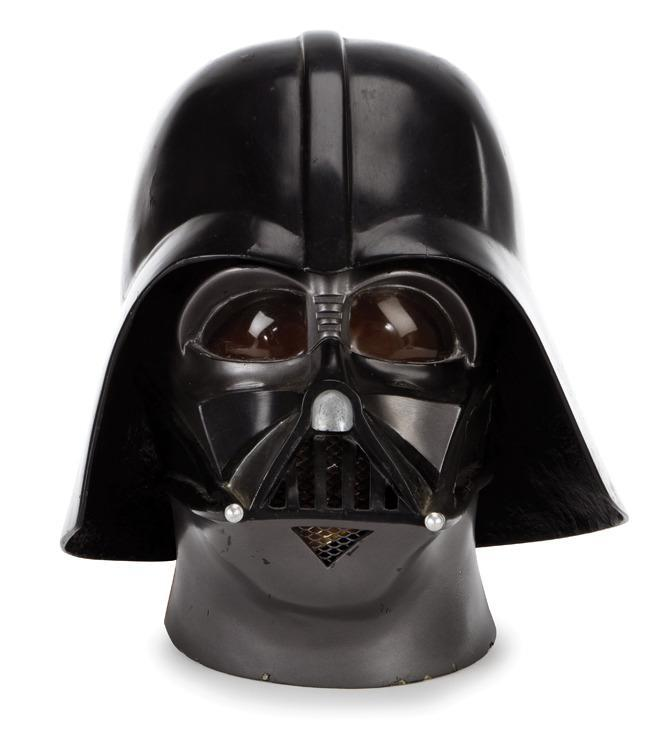 Never content with the status quo, the Lucasfilm team tweaked the design to Darth Vader's helmet in between 'A New Hope' and 'The Empire Strikes Back.' This wasn't the finished version, but it will still cost $30,000-50,000. (Profiles in History)