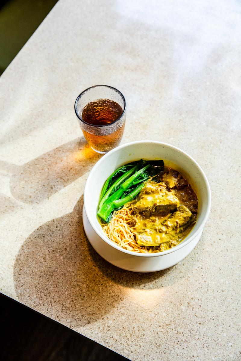 I refuse to share Mui Garden's comforting curry noodle soup.